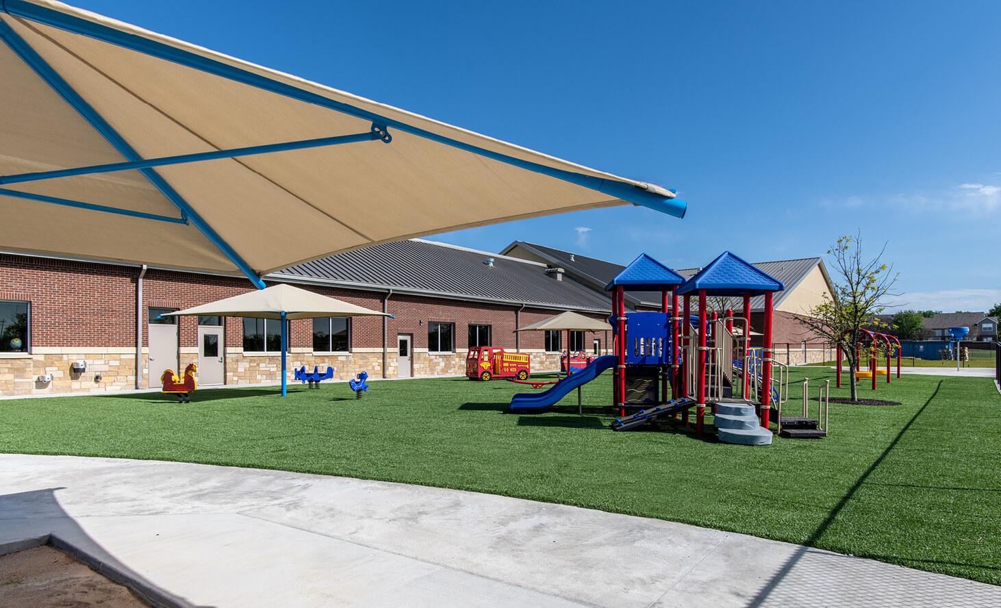 Challenger School Independence Playground