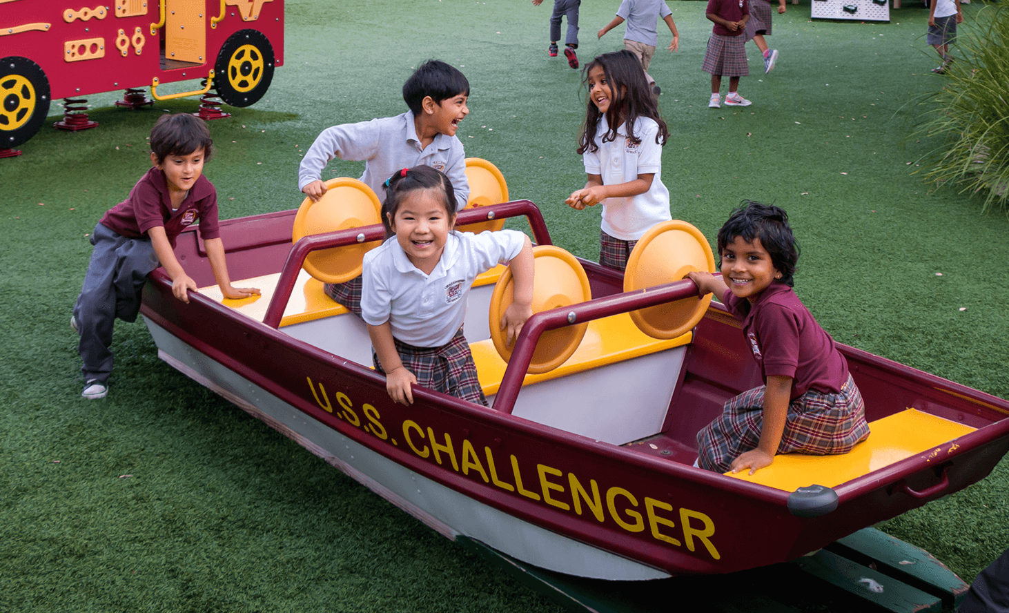 Playground Boat | Challenger School - Avery Ranch | Private School In Austin, Texas