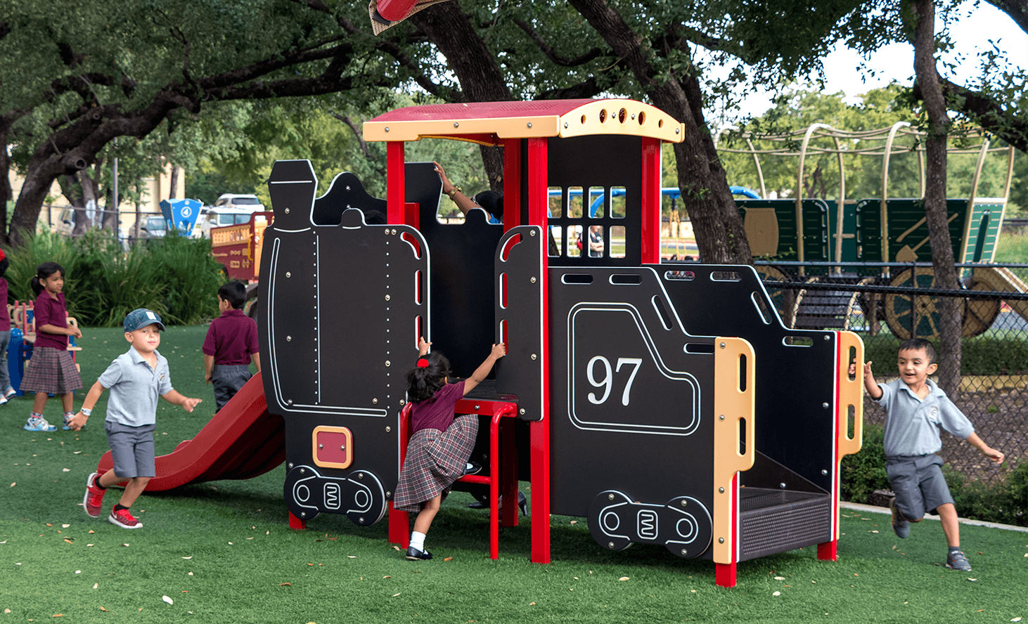 Playground Facility | Challenger School - Avery Ranch | Private School In Austin, Texas