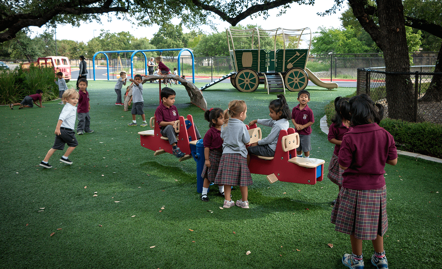 Preschool Playground | Challenger School - Avery Ranch | Private School In Austin, Texas