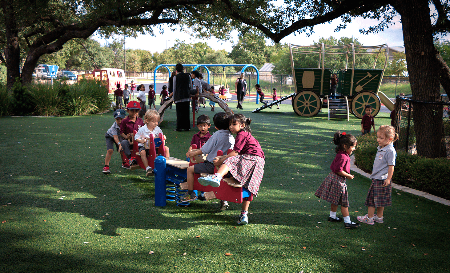 Playground Seesaw | Challenger School - Avery Ranch | Private School In Austin, Texas