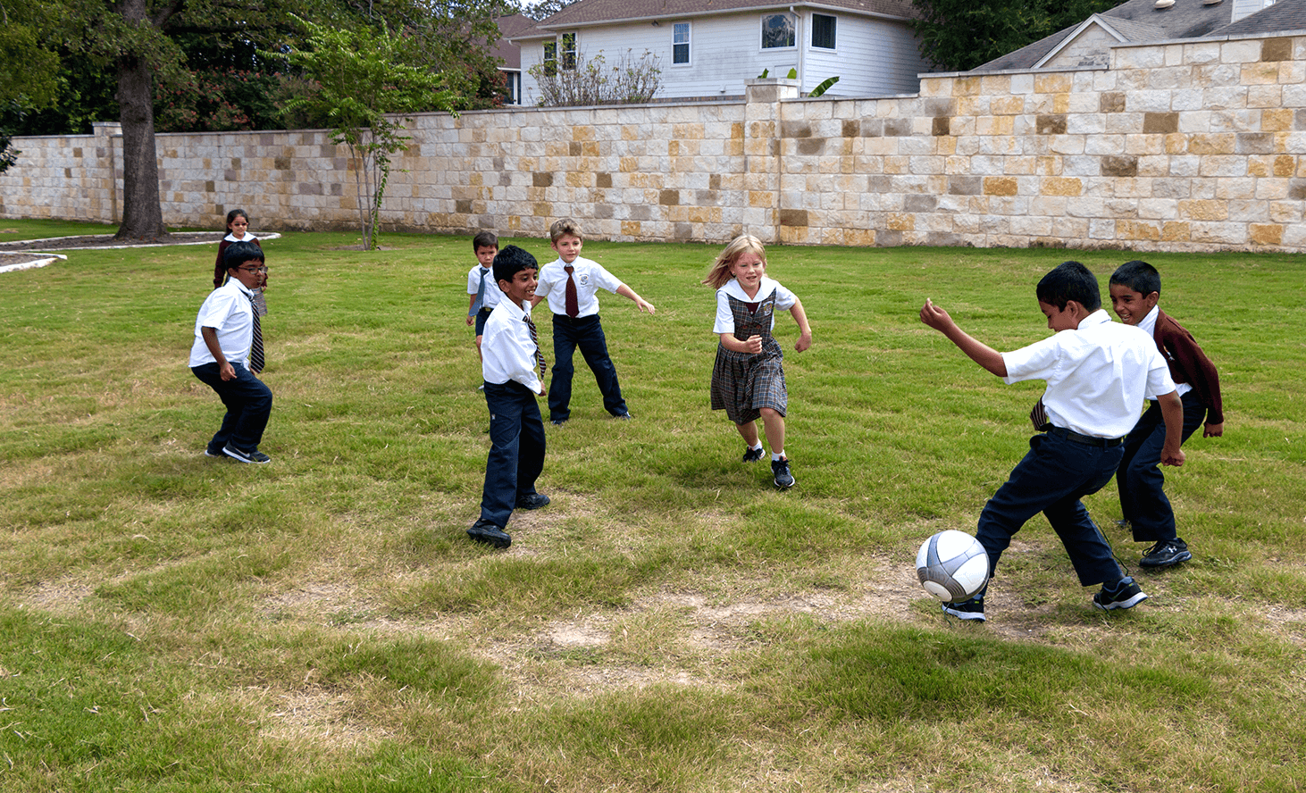 Soccer Fun | Challenger School - Avery Ranch | Private School In Austin, Texas
