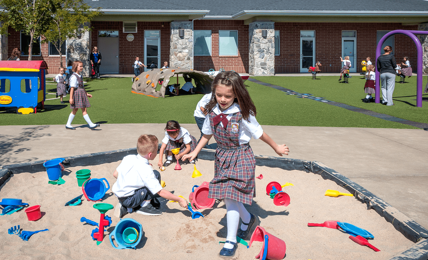 Sandbox | Challenger School - Farmington | Private School In Farmington, Utah