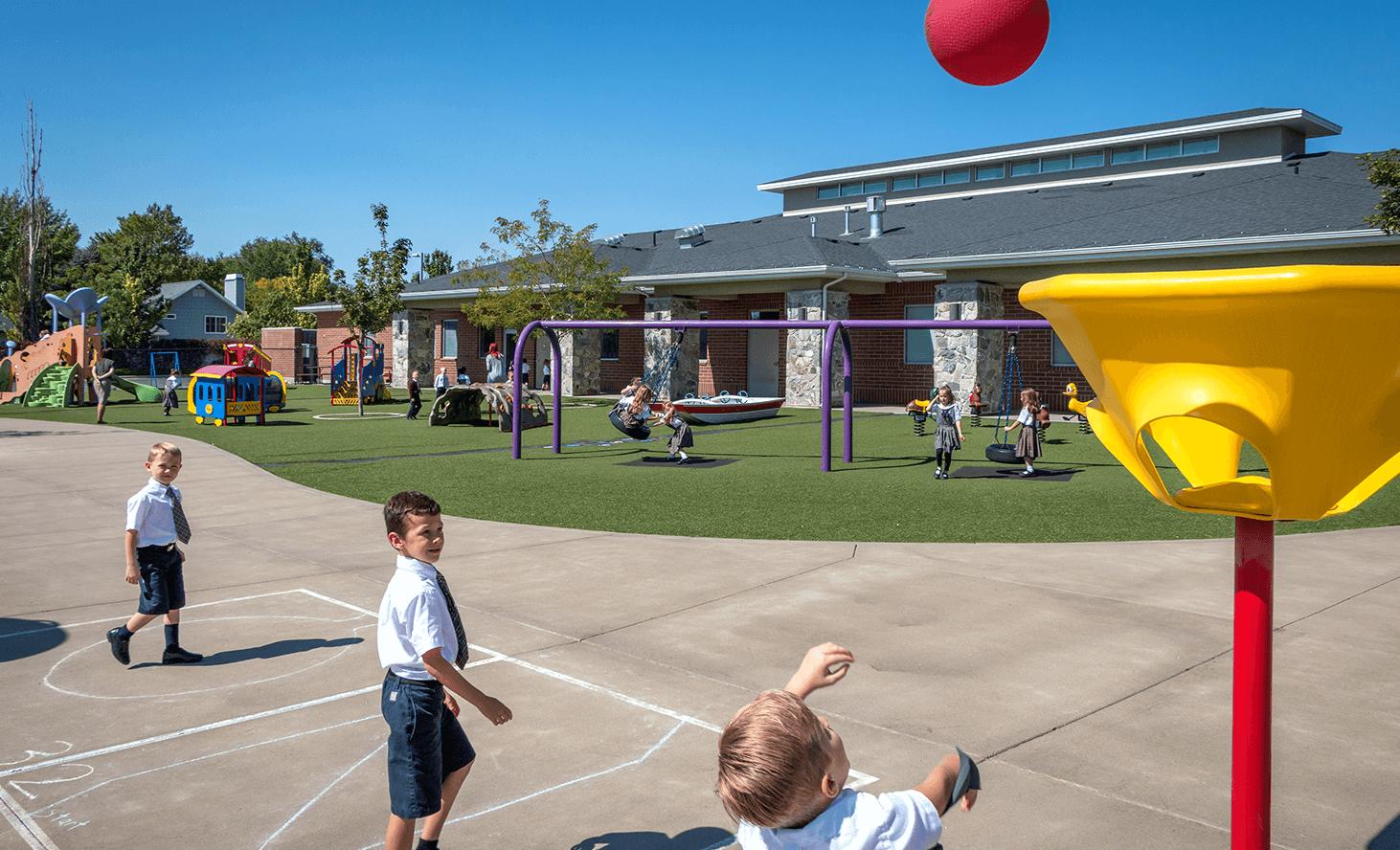 Playground | Challenger School - Farmington | Private School In Farmington, Utah