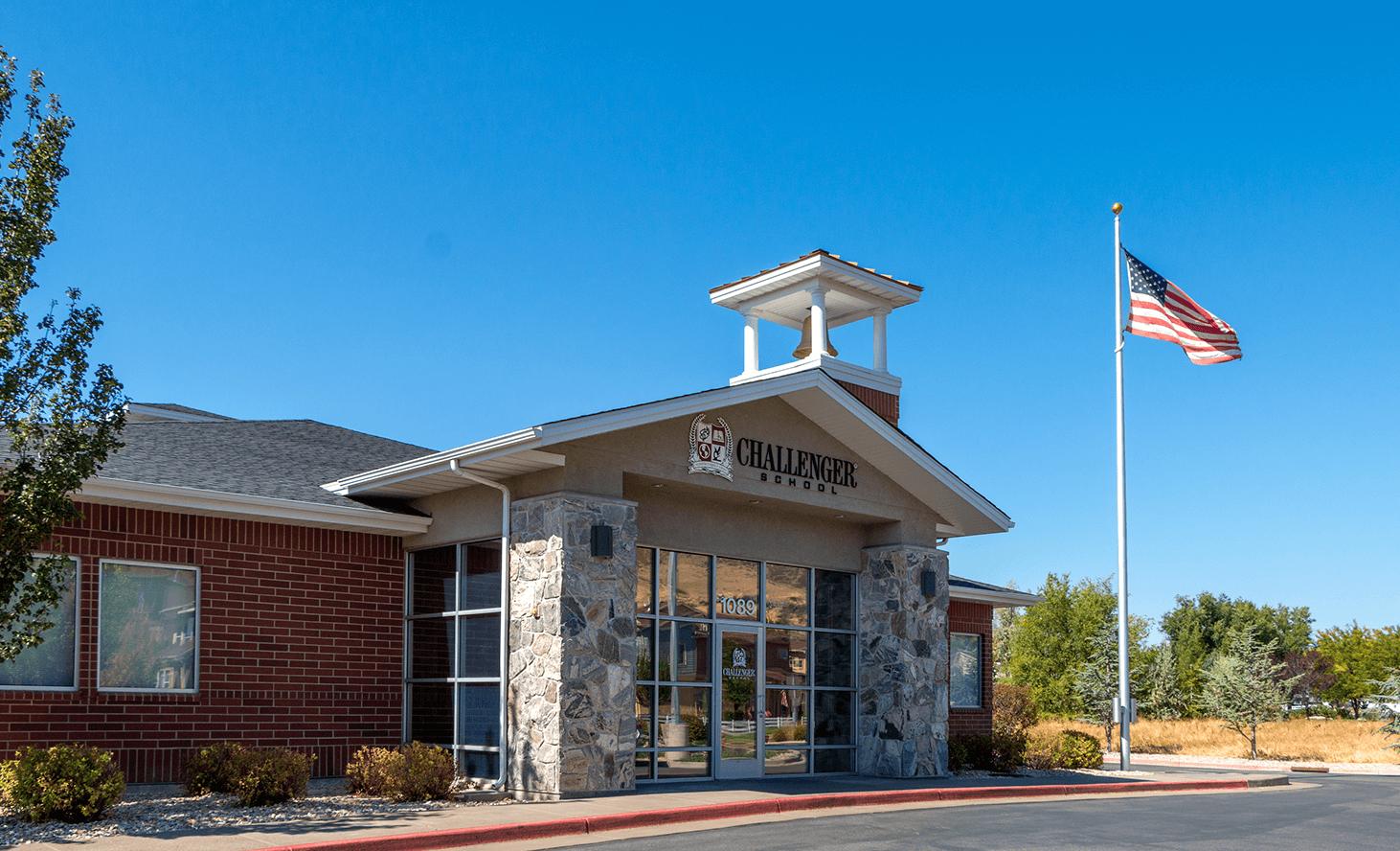 Campus Exterior | Challenger School - Farmington | Private School In Farmington, Utah