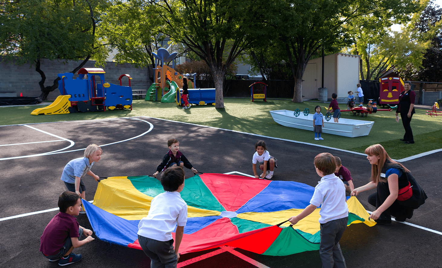Playground | Challenger School - Holladay | Private School In Holladay, Utah
