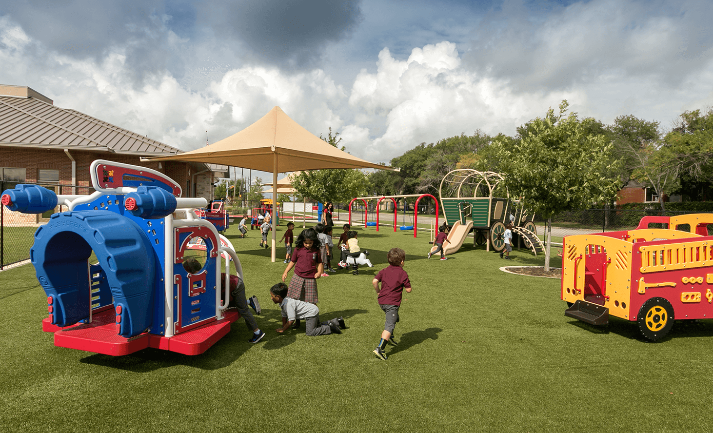 Playground Facility | Challenger School - Pond Springs | Private School In Austin, Texas