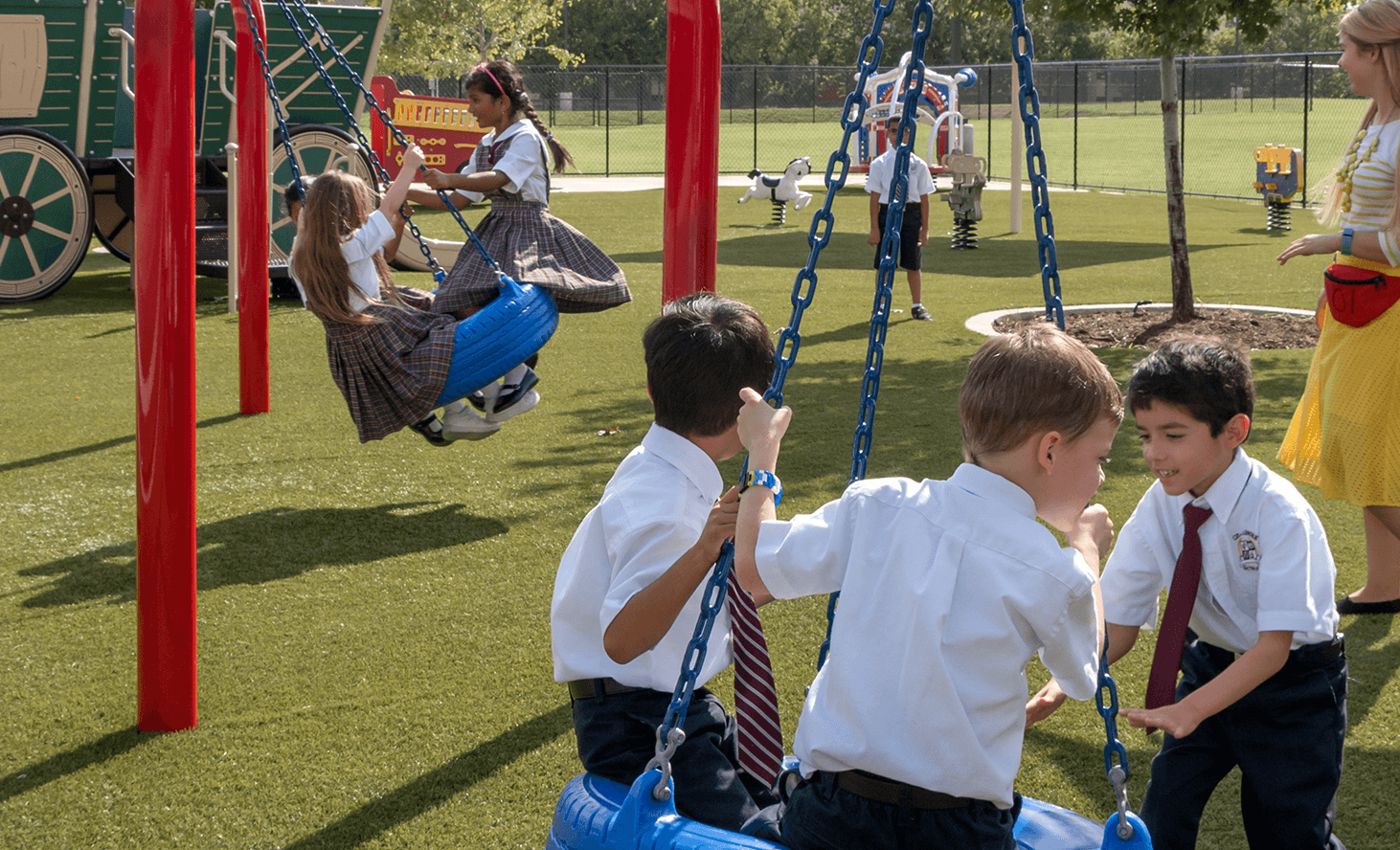 Playground | Challenger School - Pond Springs | Private School In Austin, Texas