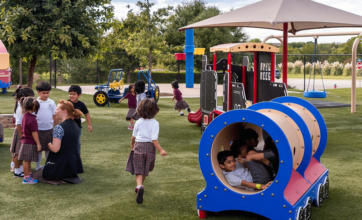 Playground | Challenger School - Round Rock | Private School In Round Rock, Texas