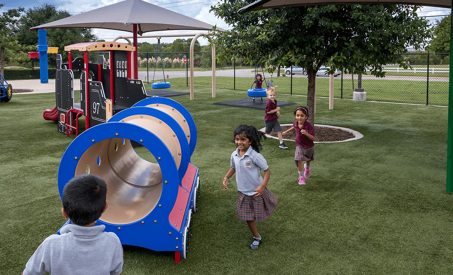 Playground Fun | Challenger School - Round Rock | Private School In Round Rock, Texas