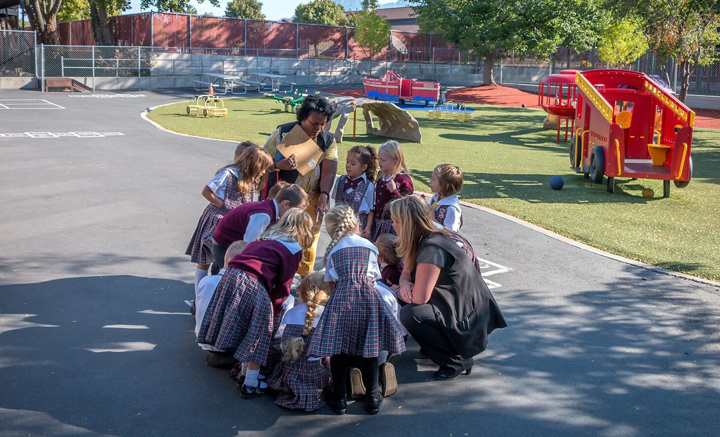 Playground Elementary | Challenger School - Sandy | Private School In Sandy, Utah