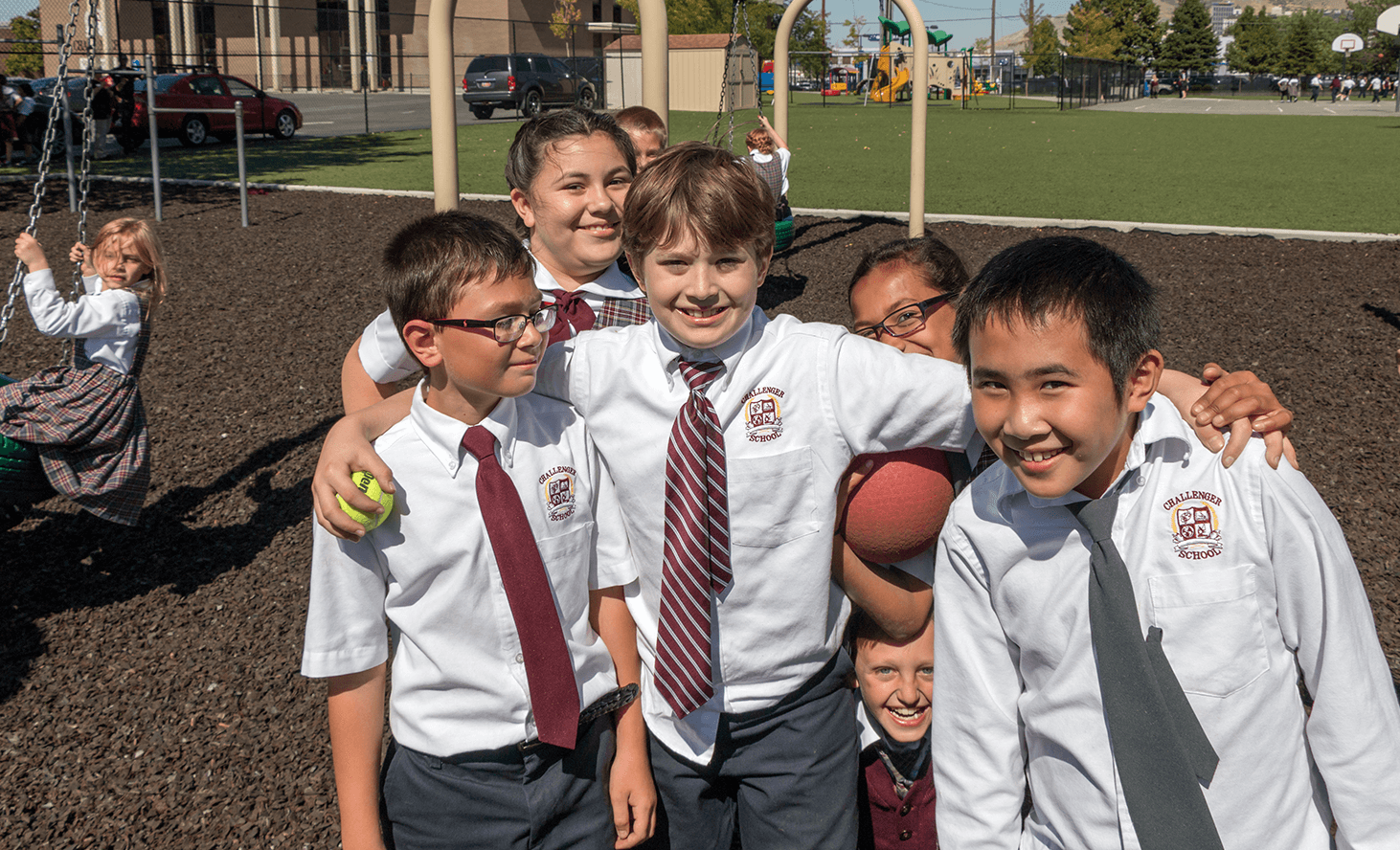 Elementary School Friends | Challenger School - Salt Lake | Private School In Salt Lake City, Utah