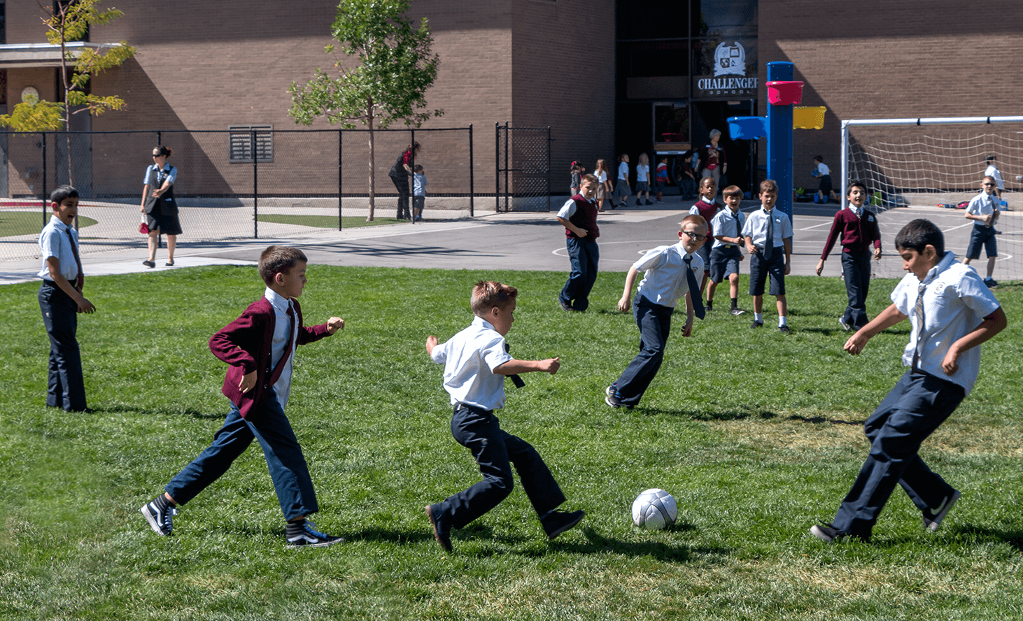 Elementary School Playground | Challenger School - Salt Lake | Private School In Salt Lake City, Utah