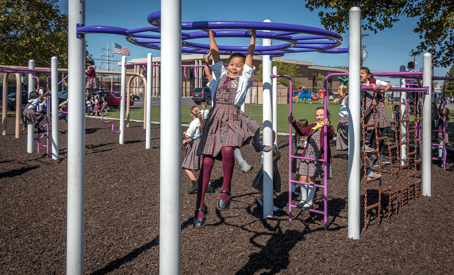 Playground Fun | Challenger School - Salt Lake | Private School In Salt Lake City, Utah