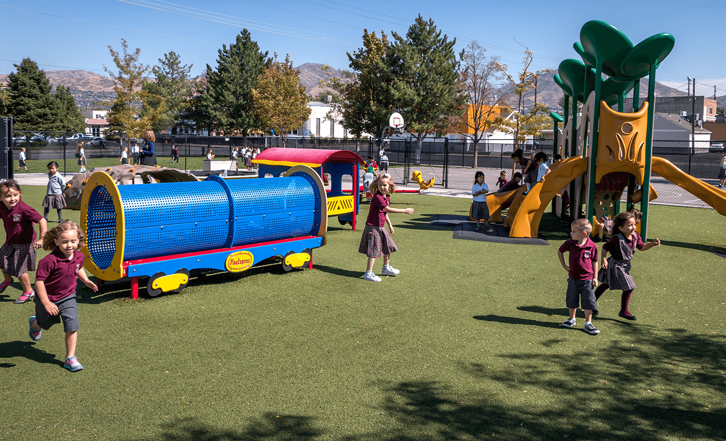 Preschool Slide | Challenger School - Salt Lake | Private School In Salt Lake City, Utah