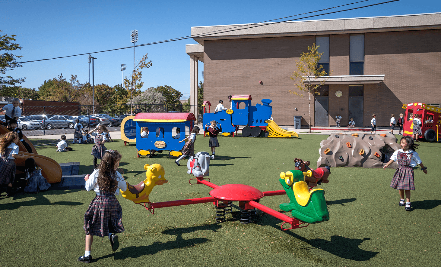 Preschool Playground | Challenger School - Salt Lake | Private School In Salt Lake City, Utah