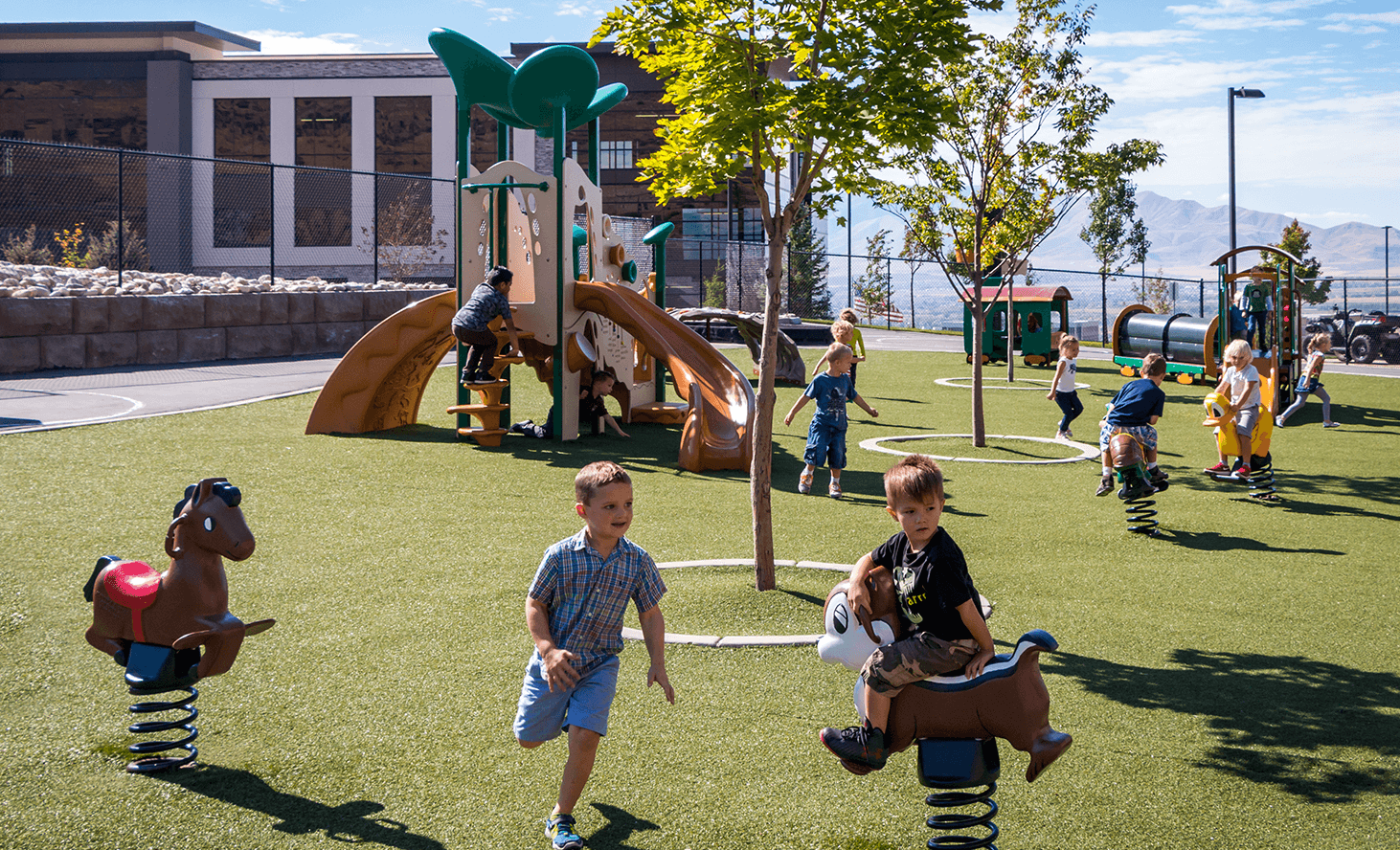 Playground | Challenger School - Traverse Mountain | Private School In Lehi, Utah