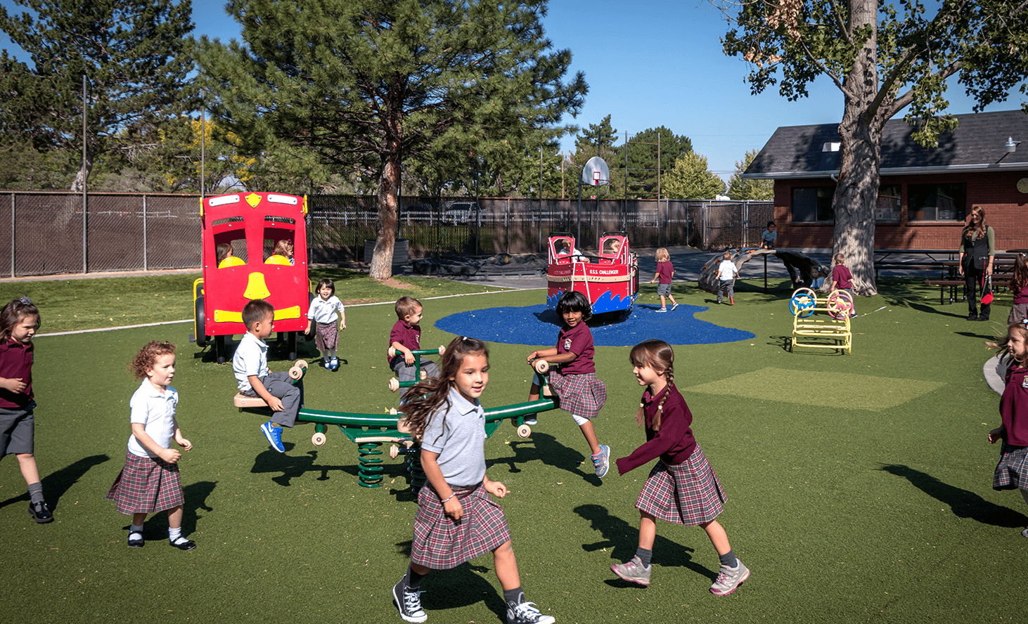Preschool Playground | Challenger School - West Jordan | Private School In West Jordan, Utah