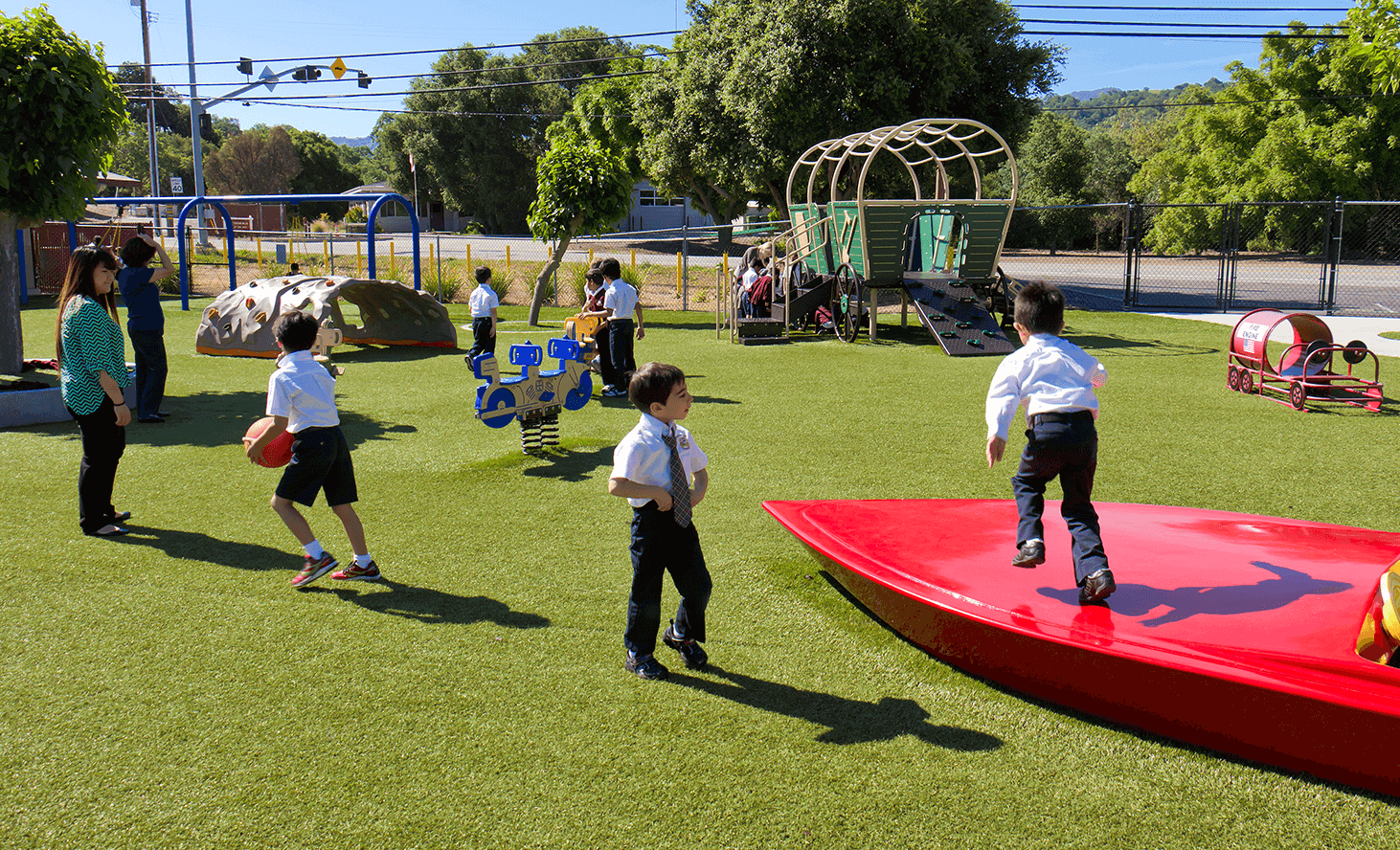 Preschool Playground | Challenger School - Almaden | Private School In San Jose, California