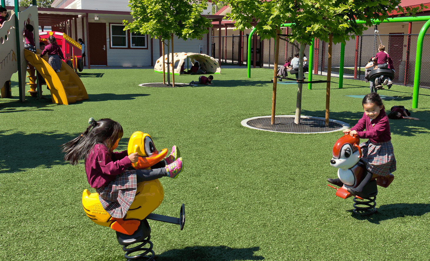 Preschool Playground | Challenger School - Berryessa | Private School In San Jose, California