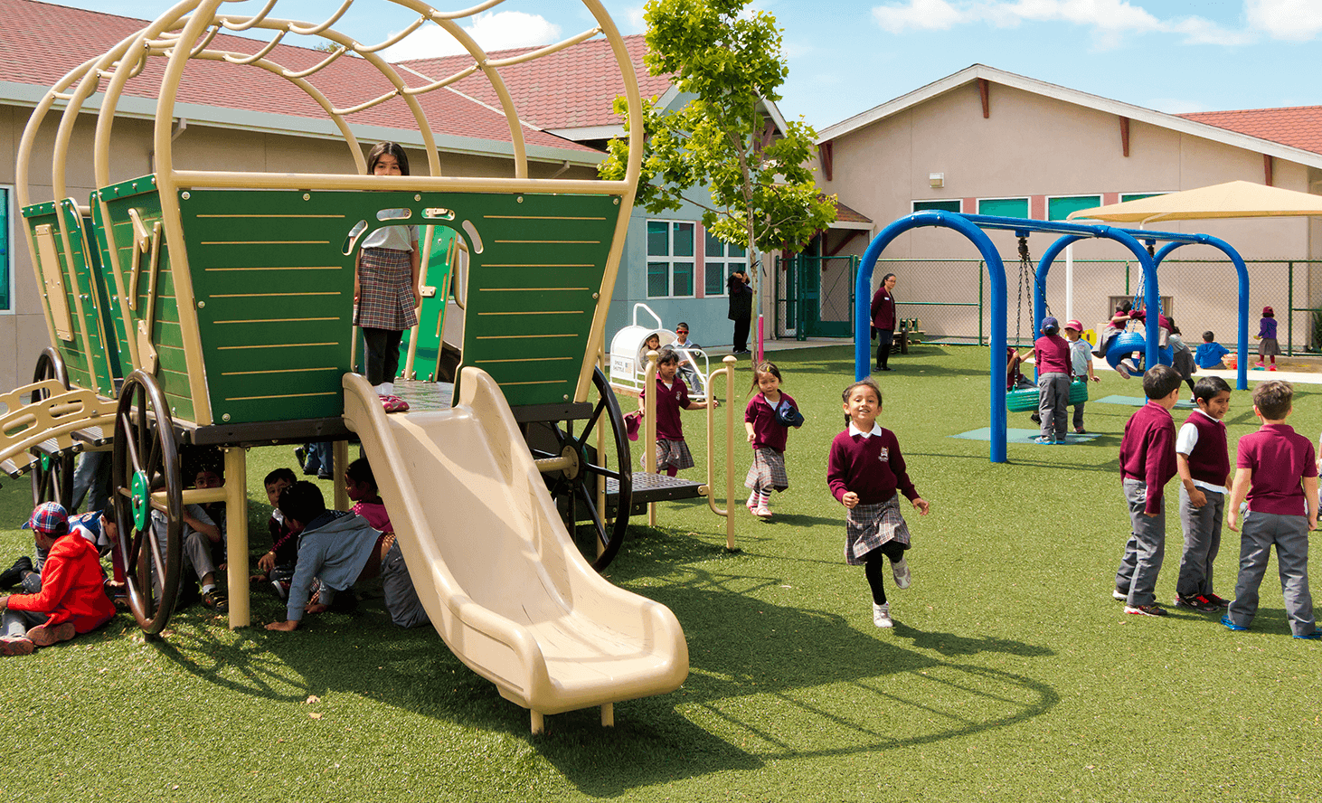 Preschool Playground | Challenger School - Ardenwood | Private School In Newark, California