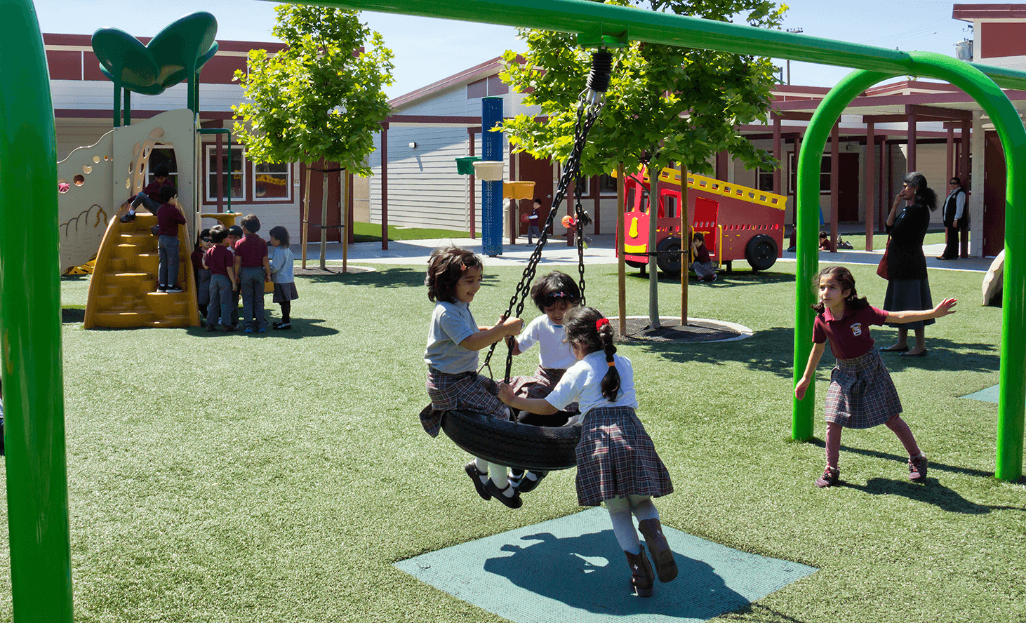 Playground Swing | Challenger School - Berryessa | Private School In San Jose, California