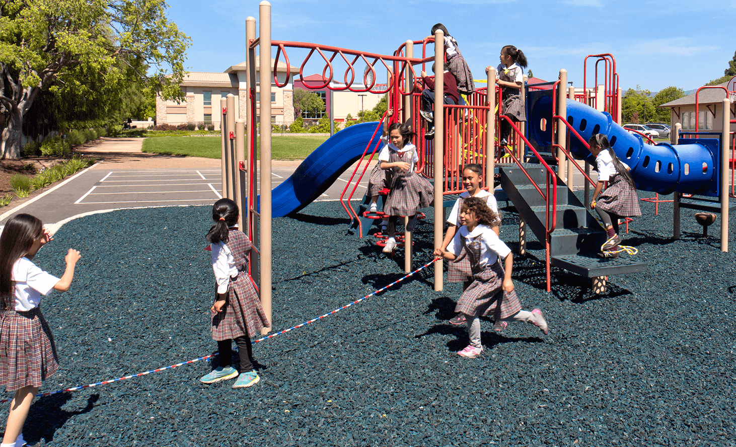 Elementary School Playground | Challenger School - Berryessa | Private School In San Jose, California