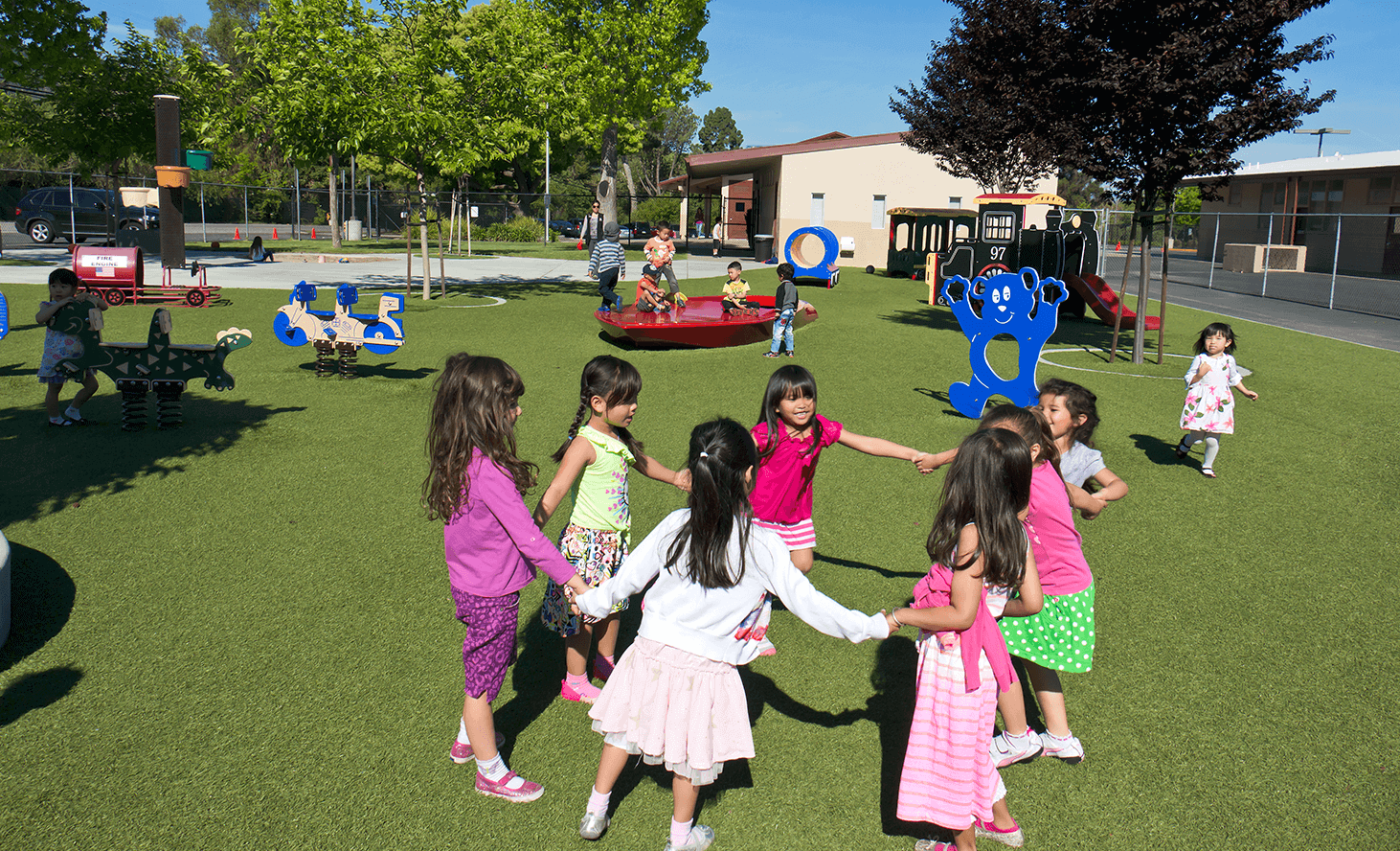 Preschool Game | Challenger School - Almaden | Private School In San Jose, California