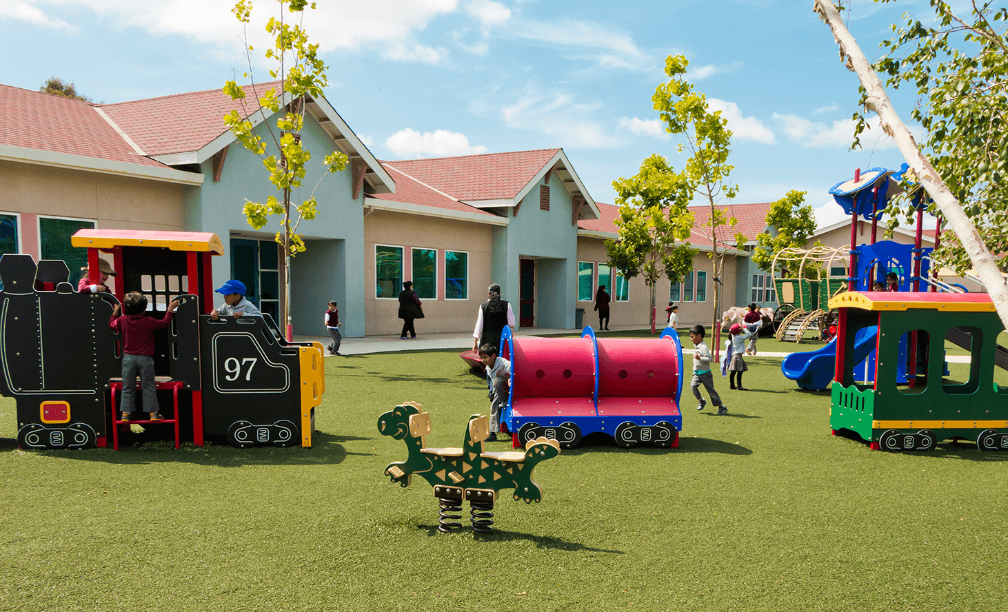 East Bay Playground Fun | Challenger School - Ardenwood | Private School In Newark, California