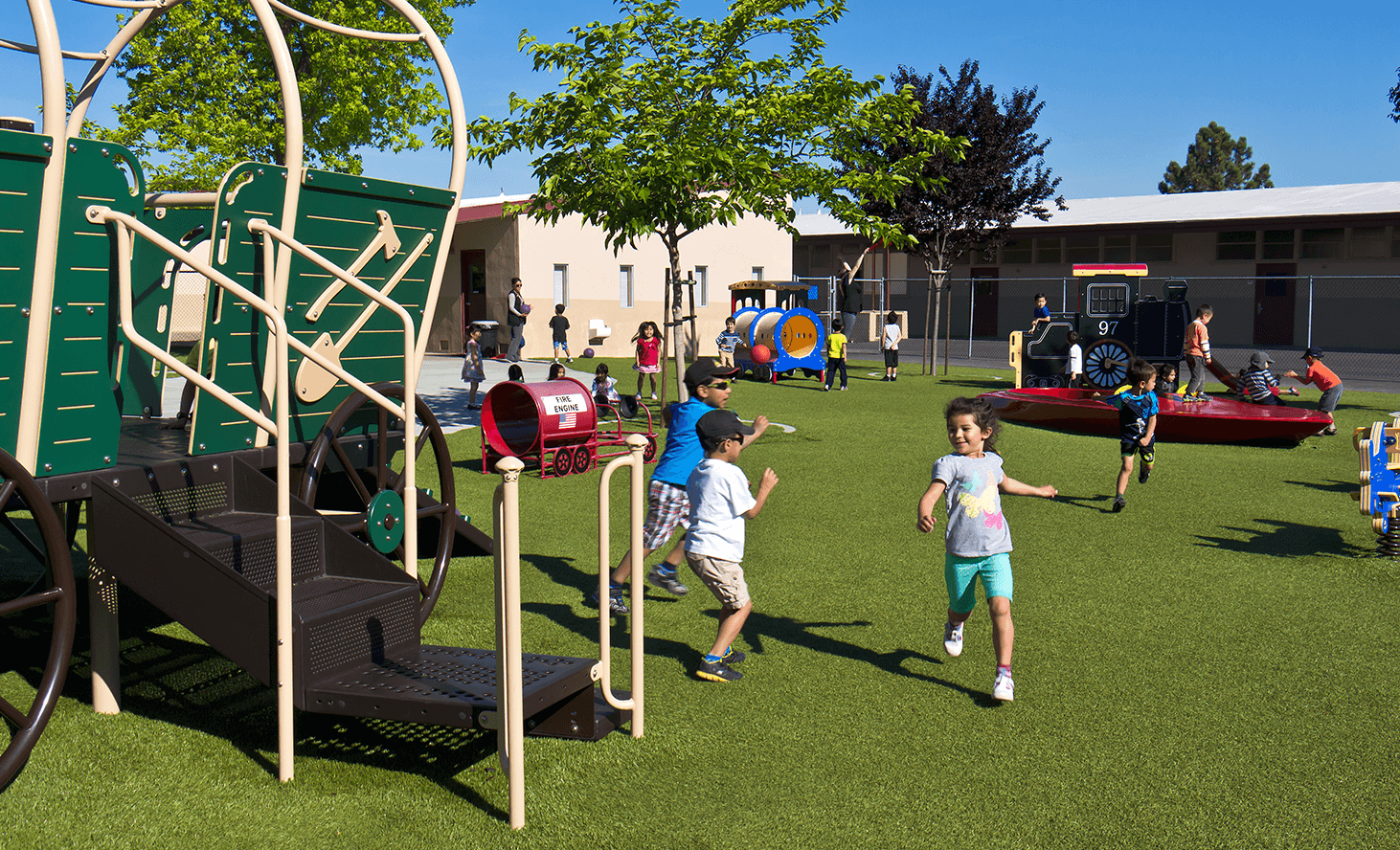 Elementary School Playground | Challenger School - Almaden | Private School In San Jose, California