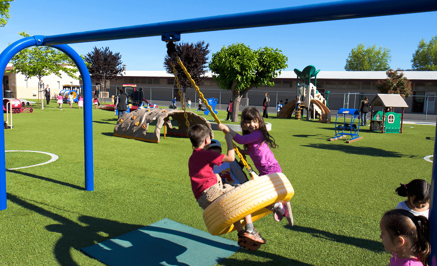 Private School Playground | Challenger School - Almaden | Private School In San Jose, California