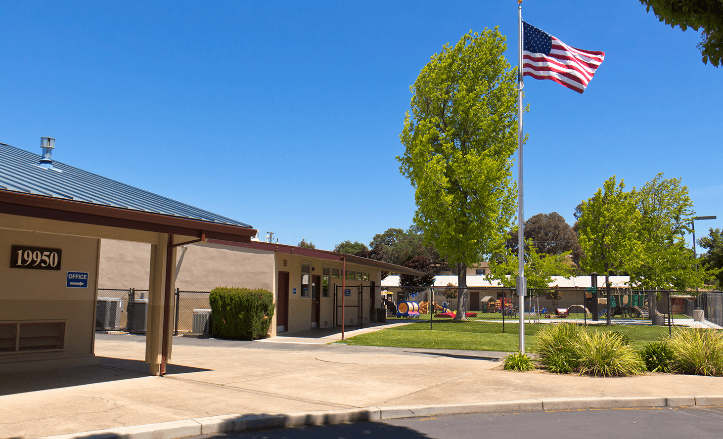 Almaden Campus Flag | Challenger School - Almaden | Private School In San Jose, California