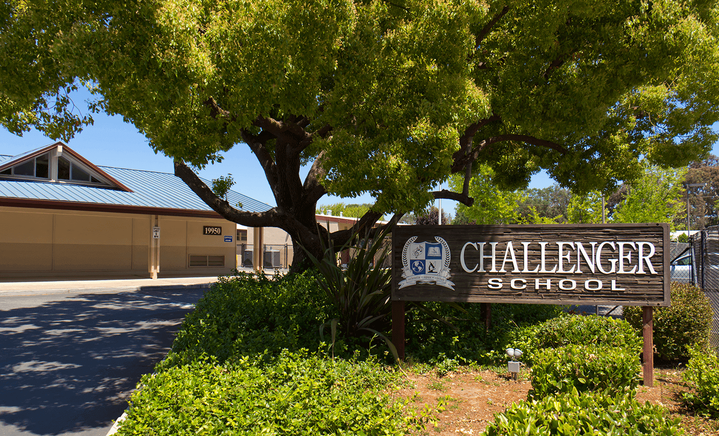 Almaden Campus Entrance | Challenger School - Almaden | Private School In San Jose, California