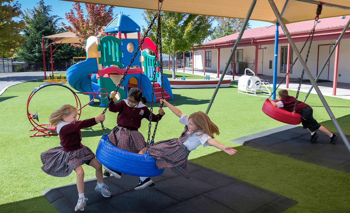 Playground | Challenger School - Boise Bloom | Private School In Boise, Idaho
