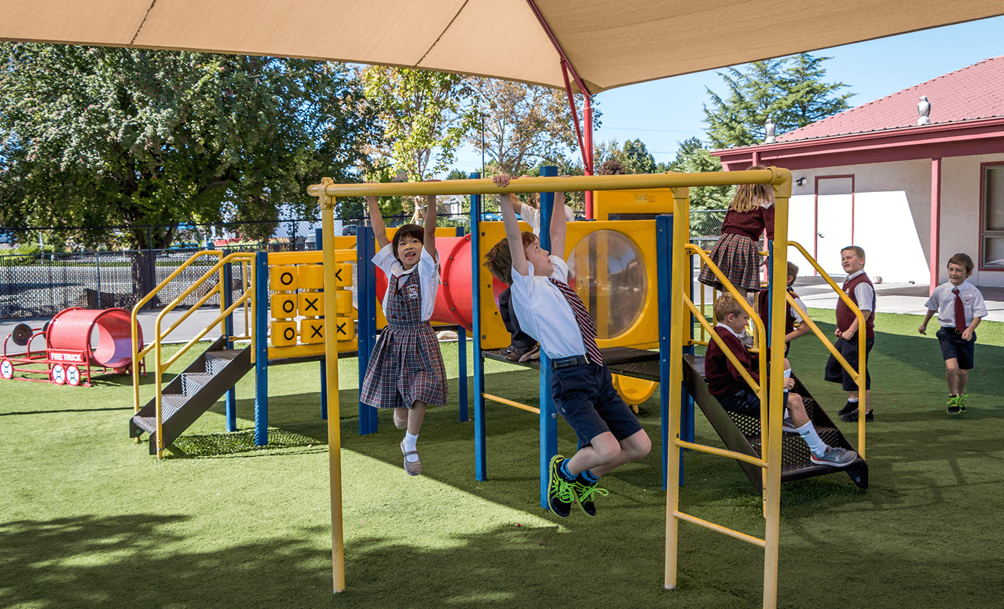 Playground Fun | Challenger School - Boise Bloom | Private School In Boise, Idaho