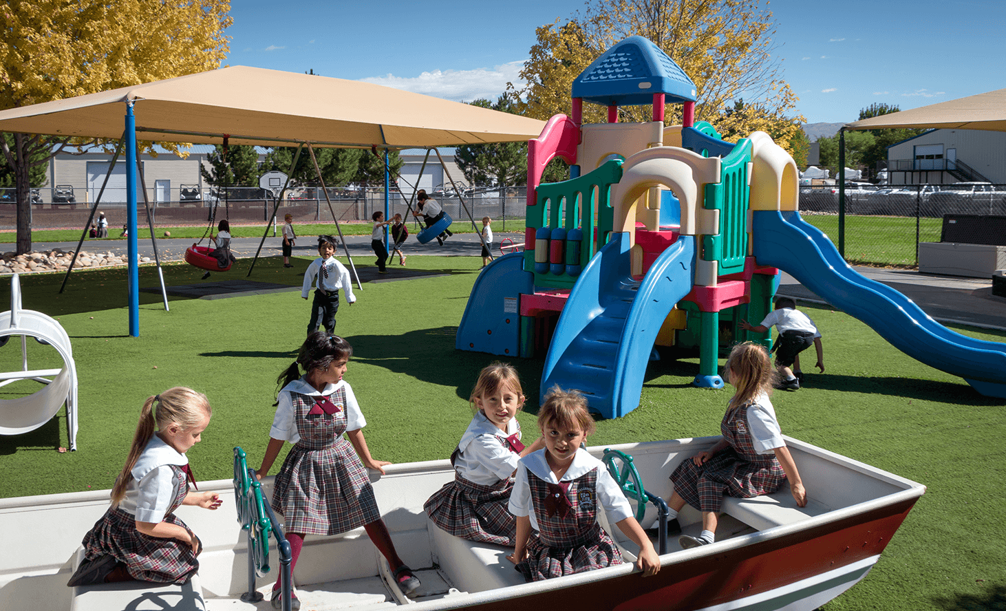 Preschool Playground | Challenger School - Boise Bloom | Private School In Boise, Idaho