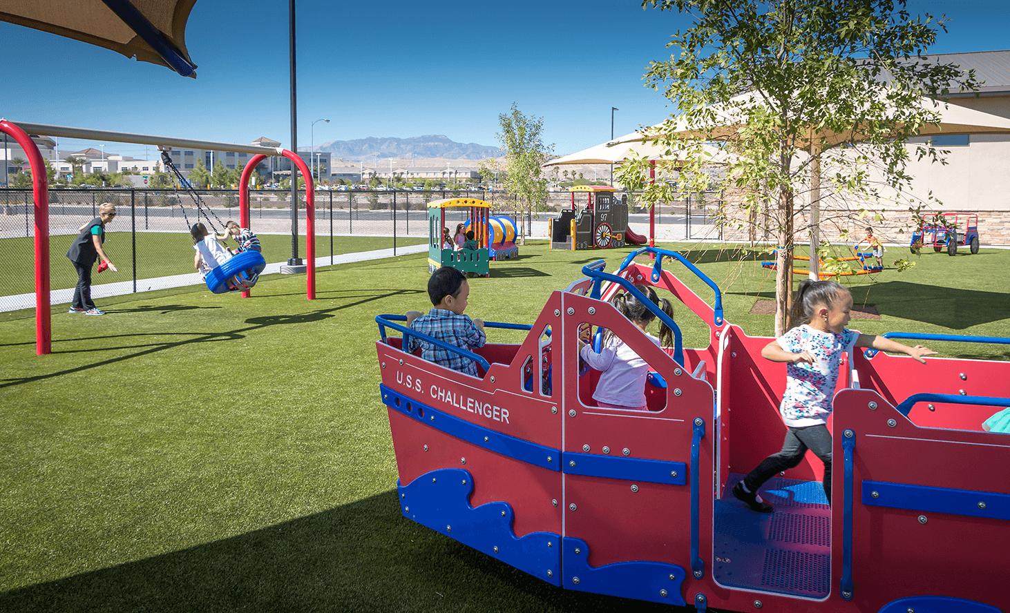 Playground Fun | Challenger School - Desert Hills | Private School In Las Vegas, Nevada