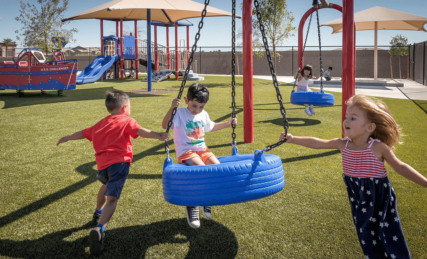 Preschool Playground | Challenger School - Desert Hills | Private School In Las Vegas, Nevada