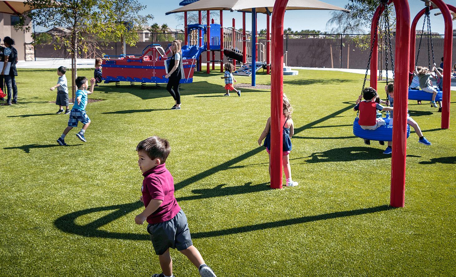 Playground Swing | Challenger School - Desert Hills | Private School In Las Vegas, Nevada