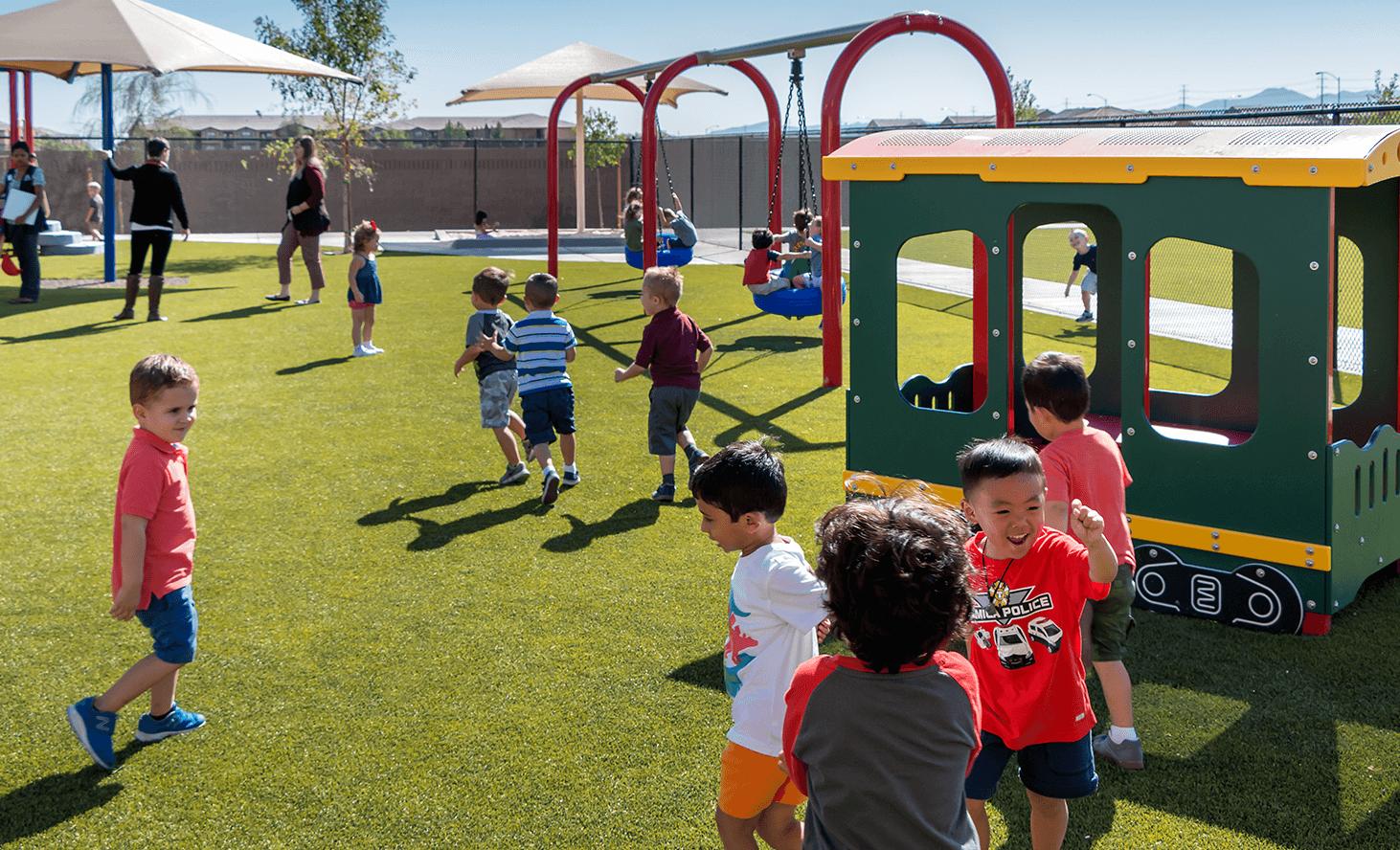 Las Vegas Playground | Challenger School - Desert Hills | Private School In Las Vegas, Nevada