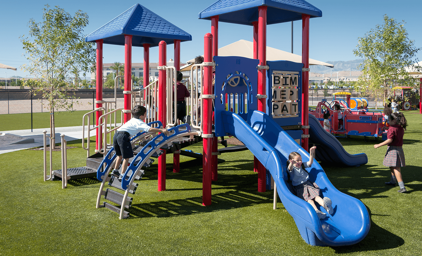 Preschool Play Structure | Challenger School - Desert Hills | Private School In Las Vegas, Nevada
