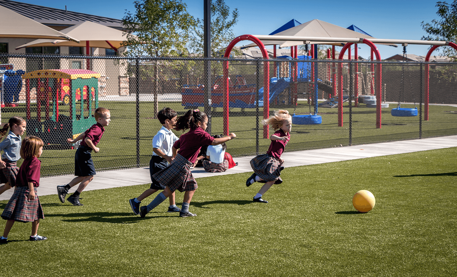 Playground Ball | Challenger School - Desert Hills | Private School In Las Vegas, Nevada