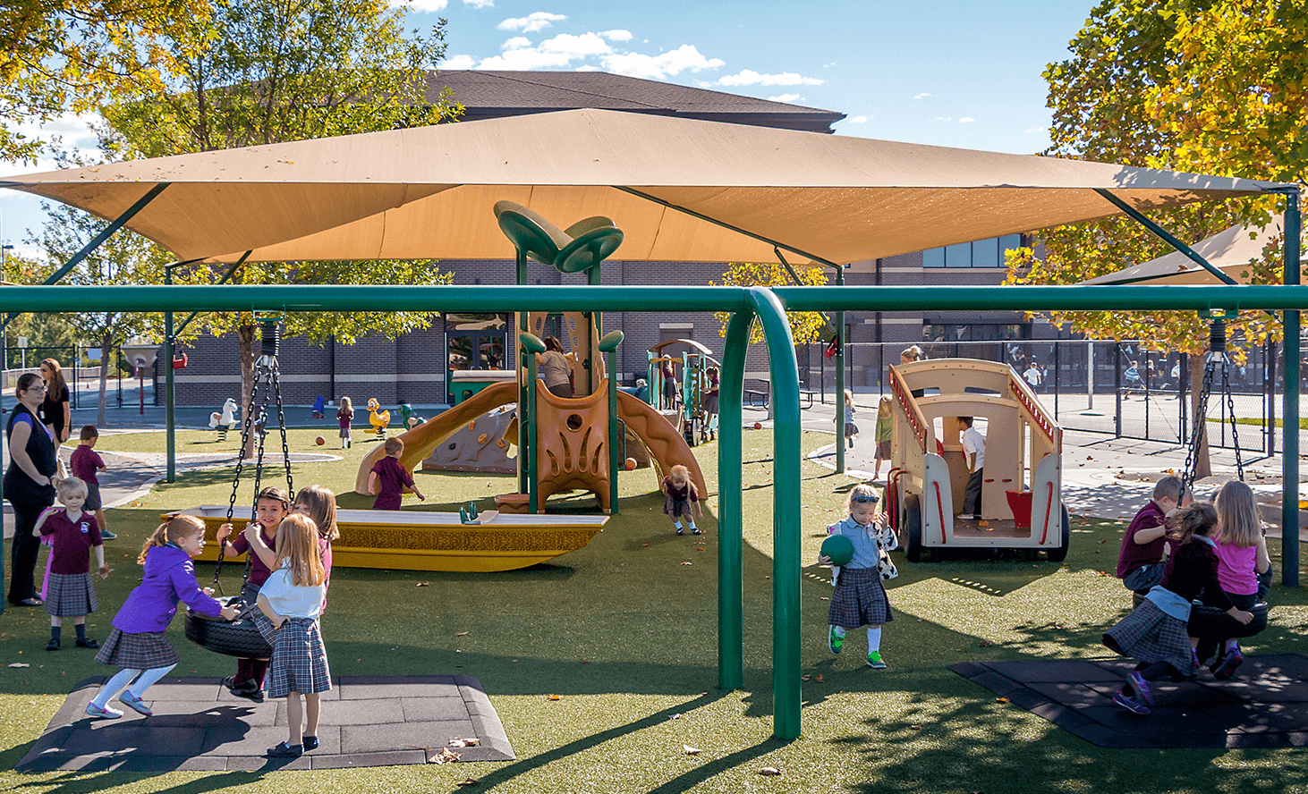 Preschool Playground | Challenger School - Everest | Private School In Meridian, Idaho