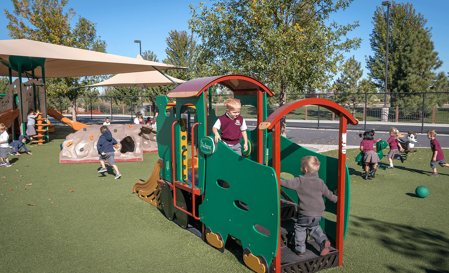Playground Fun | Challenger School - Everest | Private School In Meridian, Idaho