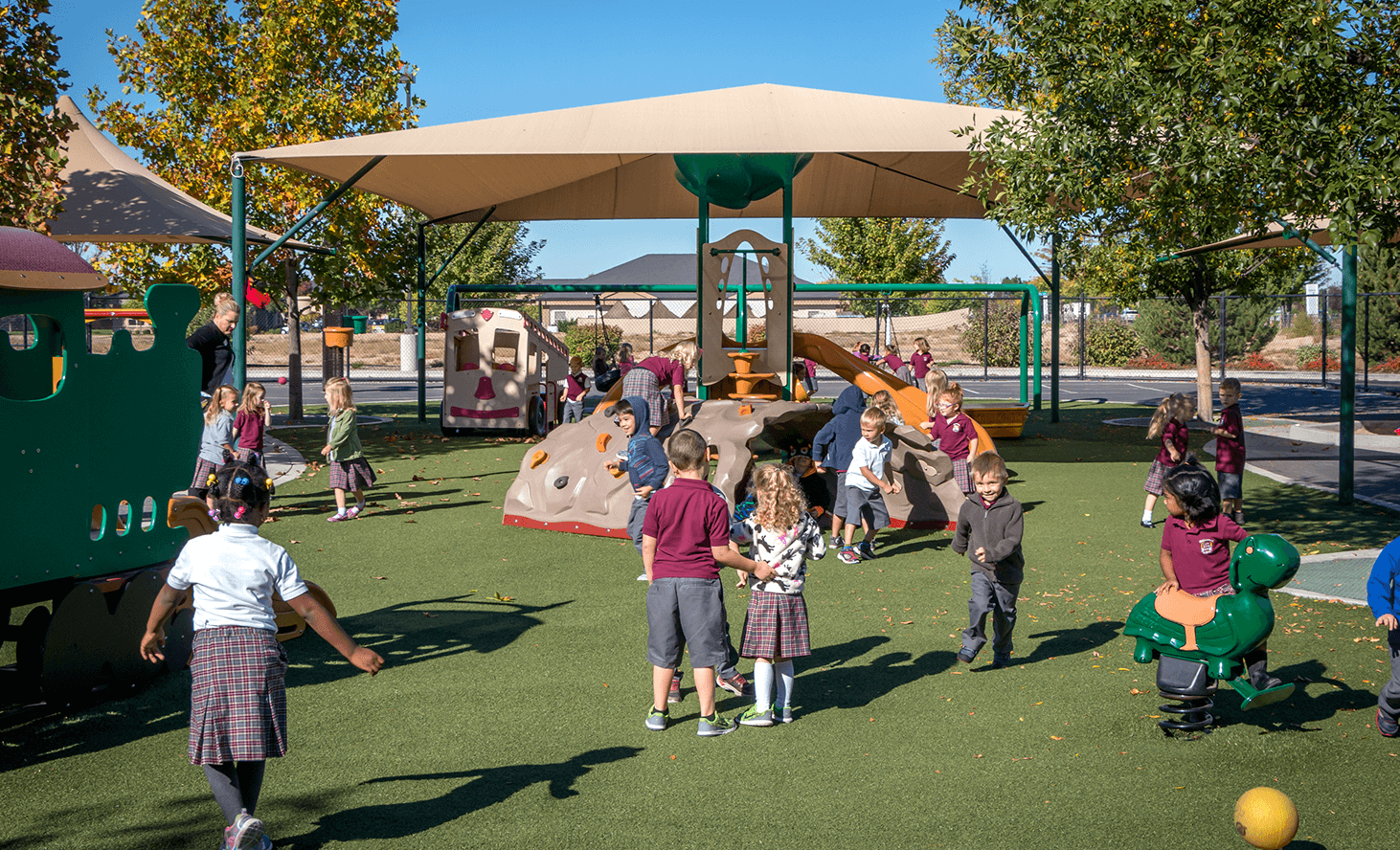 Playground Outside | Challenger School - Everest | Private School In Meridian, Idaho