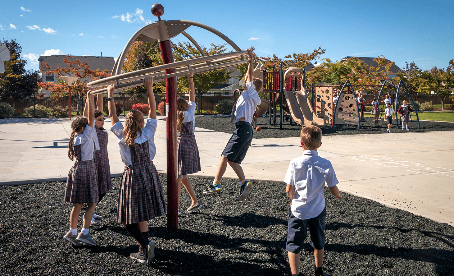 Elementary School Playground | Challenger School - Everest | Private School In Meridian, Idaho