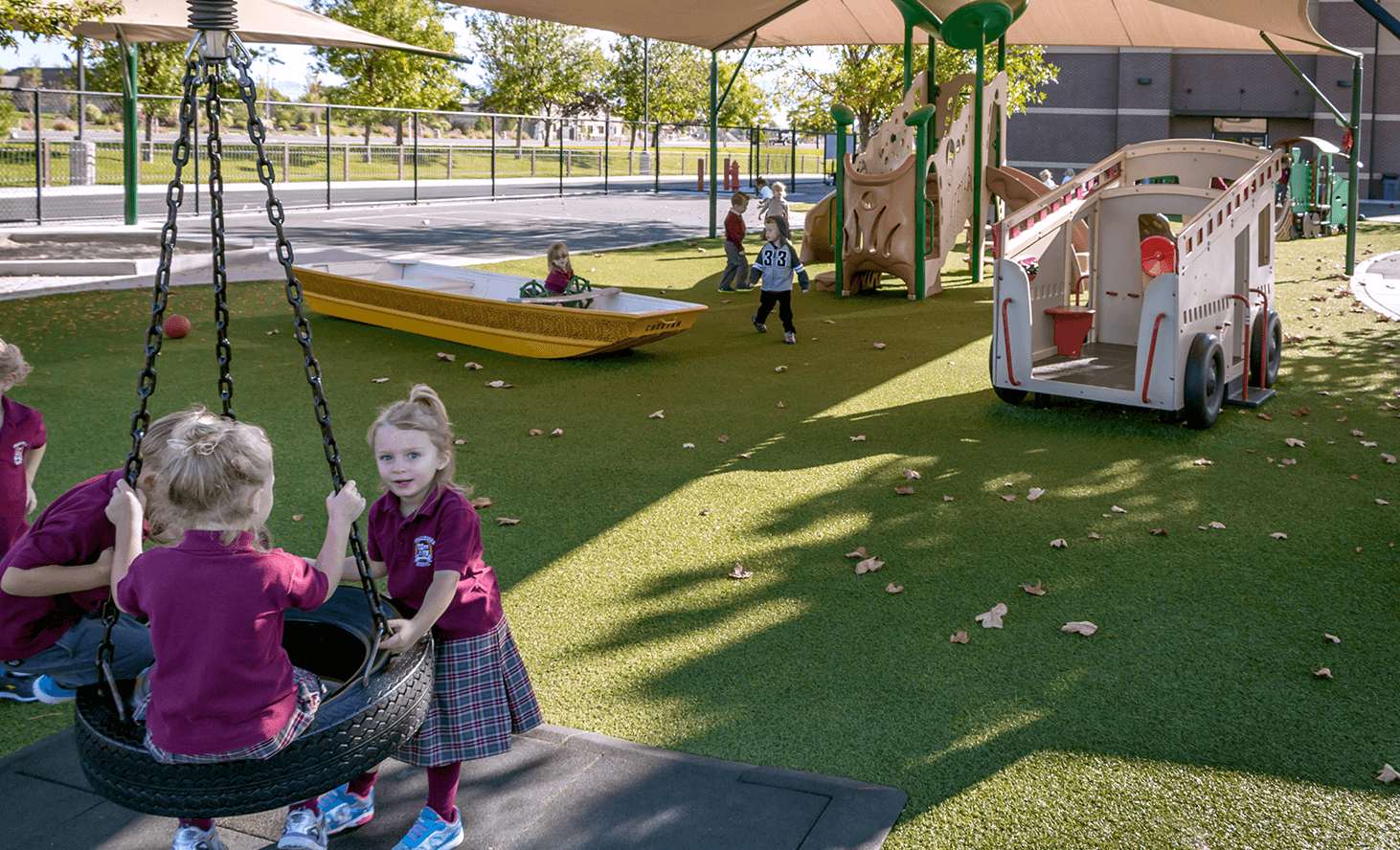 Preschool Swing | Challenger School - Everest | Private School In Meridian, Idaho
