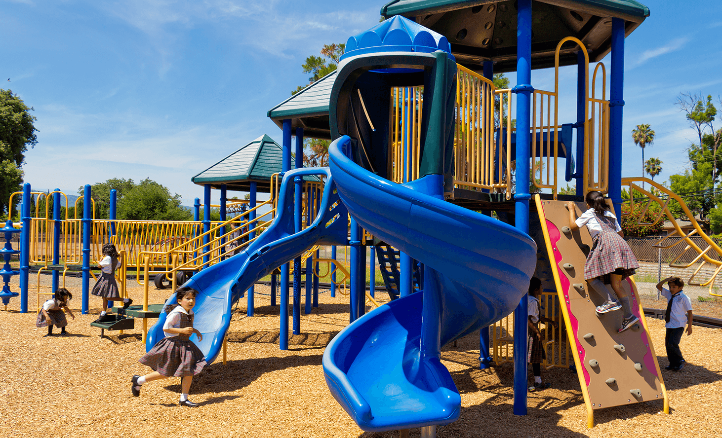 Private Elementary Playground | Challenger School - Harwood | Private School In San Jose, California