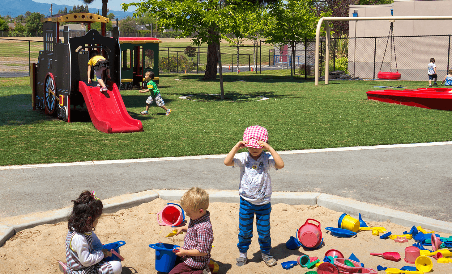 Playground | Challenger School - Harwood | Private School In San Jose, California