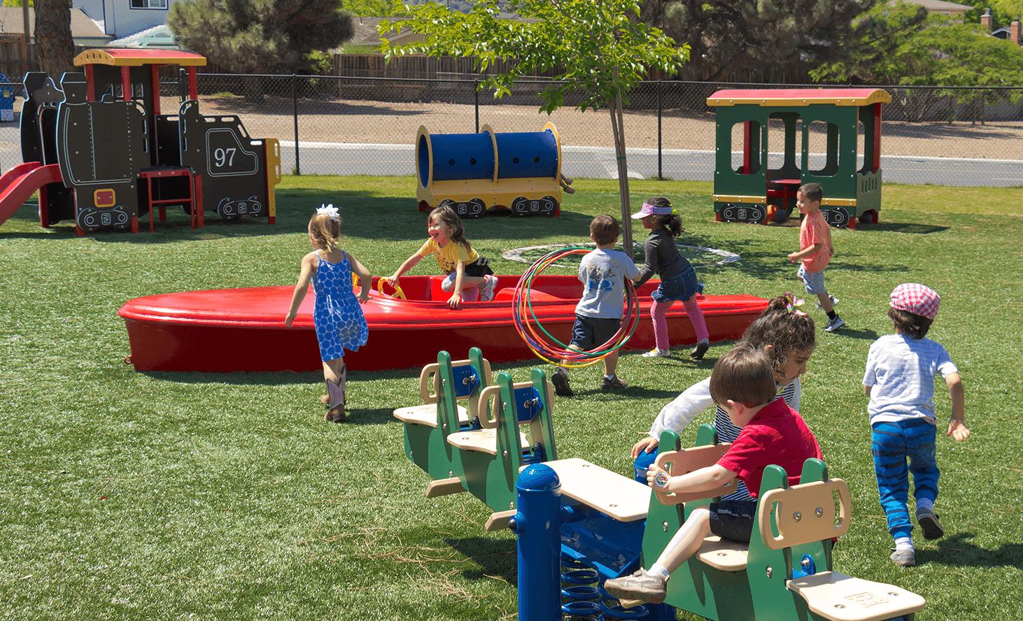 Preschool Playground | Challenger School - Harwood | Private School In San Jose, California